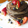 Blueberry-Orange Buckwheat Pancakes