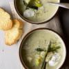 Leek Potato Charred Poblano Soup