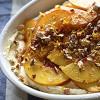 Peach & Cinnamon Trifle