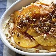 Peach & Cinnamon Trifle