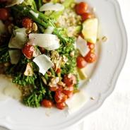 Sauteed Broccolini & Lemon Quinoa