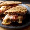 Dos Lunas Grilled Cheese & Plum Chutney Sandwich