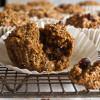 Cranberry Walnut Bran Muffins