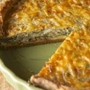 Fennel-Shallot-Bacon & Edam Quiche