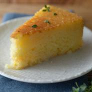 Ricotta Cake & Honey-Lemon-Thyme Glaze