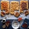 Thanksgiving Crostatas Pecan Apple & Pumpkin-Yam