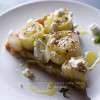 Leek+Potato+ Goat Cheese Tarte Tatin