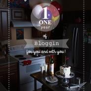 ONE Year of Blogging for you and with you!