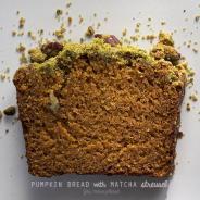 Matcha Streusel Pumpkin Bread