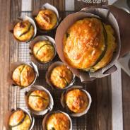 Gluten free Cornbread Muffins with Poblano Peppers and Smoked Gouda