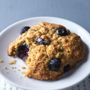 Blueberry Lemon Oatmeal Breakfast Cookies