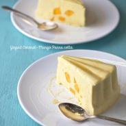 Yogurt Coconut-Mango Panna Cotta