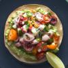 Ceviche de Pulpo-Octopus Ceviche