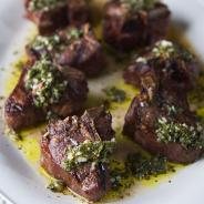 Grilled Lamb and Autumn Chimichurri