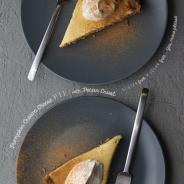 Pumpkin Cream Cheese Pie with Pecan Crust A feel good alternative Gluten Free and Sugar Free