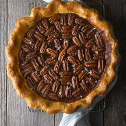 Salted Date and Pecan Pie