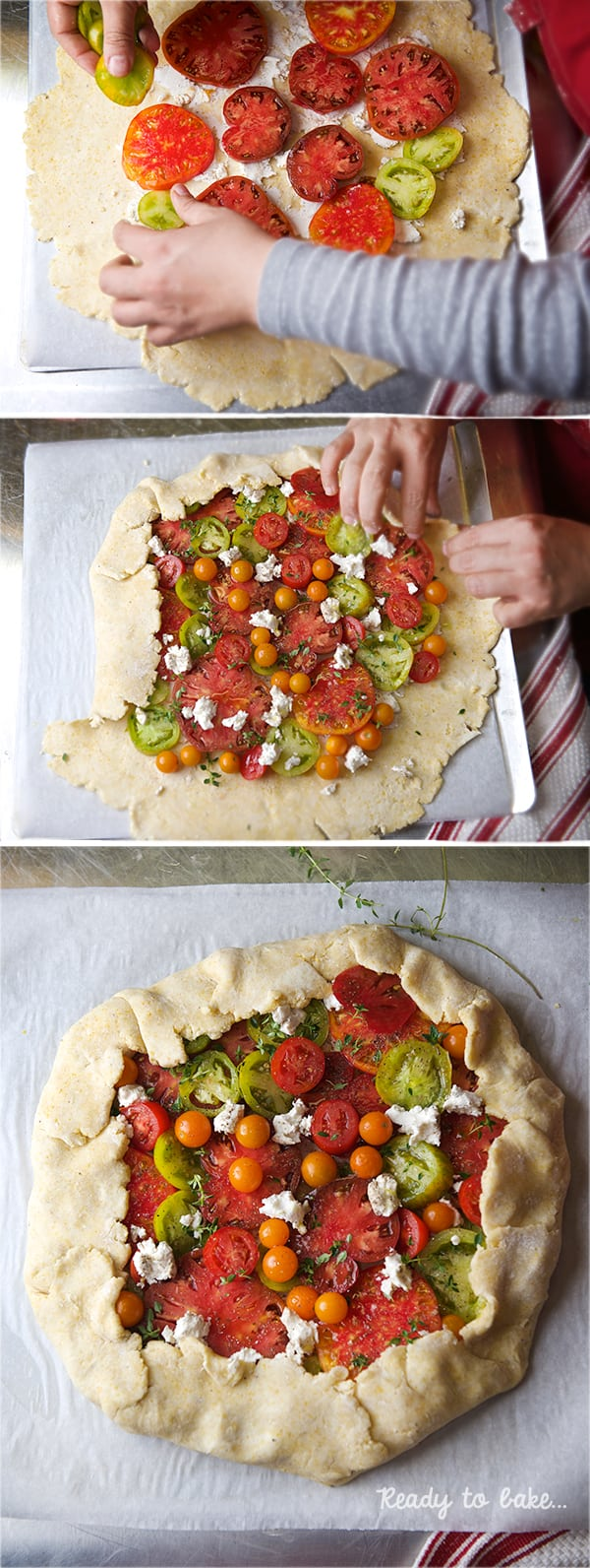 Heirloom-Tomato-Crostata_How-to-make-a-Crostata,-Gallete,-Free-form-savory-pie