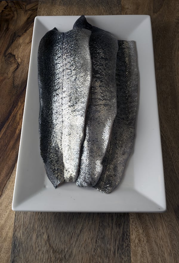 Seared Rainbow Trout : Citrus-fennel-potato salad & Cilantro pesto_Rainbow Trout fillets