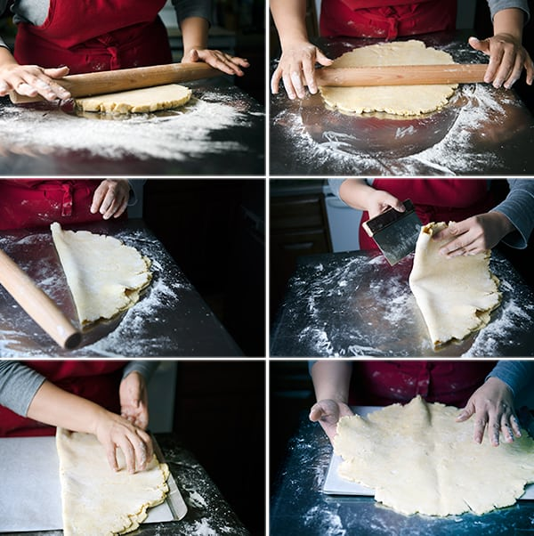 Tomatoe-Crostata_Rolling-the-dough
