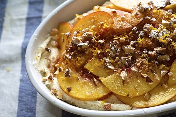 Peach & Cinnamon Trifle_scrumptious summer dessert ~ Yes, more please!