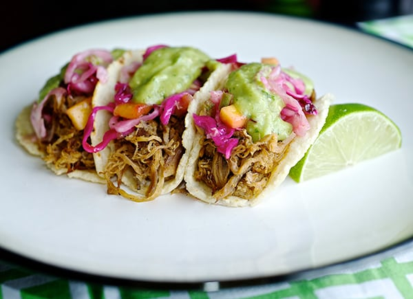Pulled-Pork-Tacos-&-Hatch-banero-Mango-Slaw-crowd-pleaser-how-to-make-tacos~Yes,-more-please!