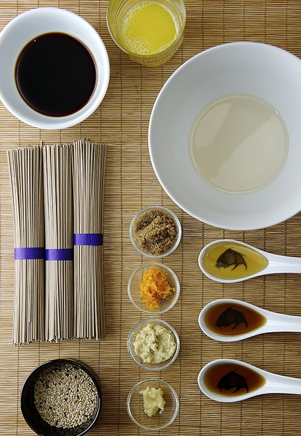 Summer Soba Noodles_ sauce ingredients