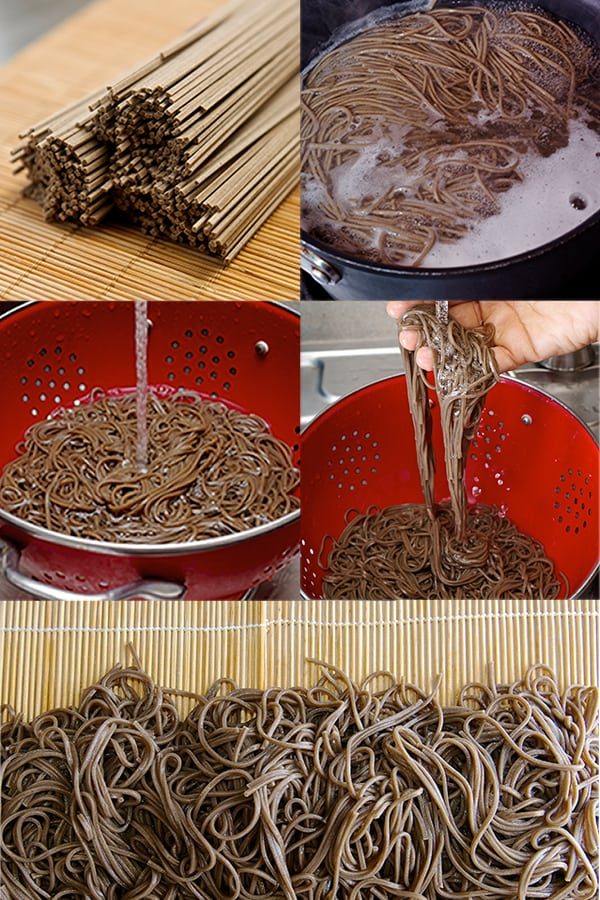 Summer Soba Noodles_How to prepare soba noodles