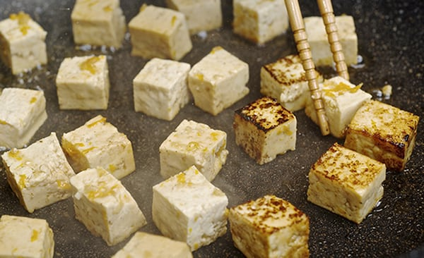 Summer Soba Noodles_Sautee_marinated_Tofu