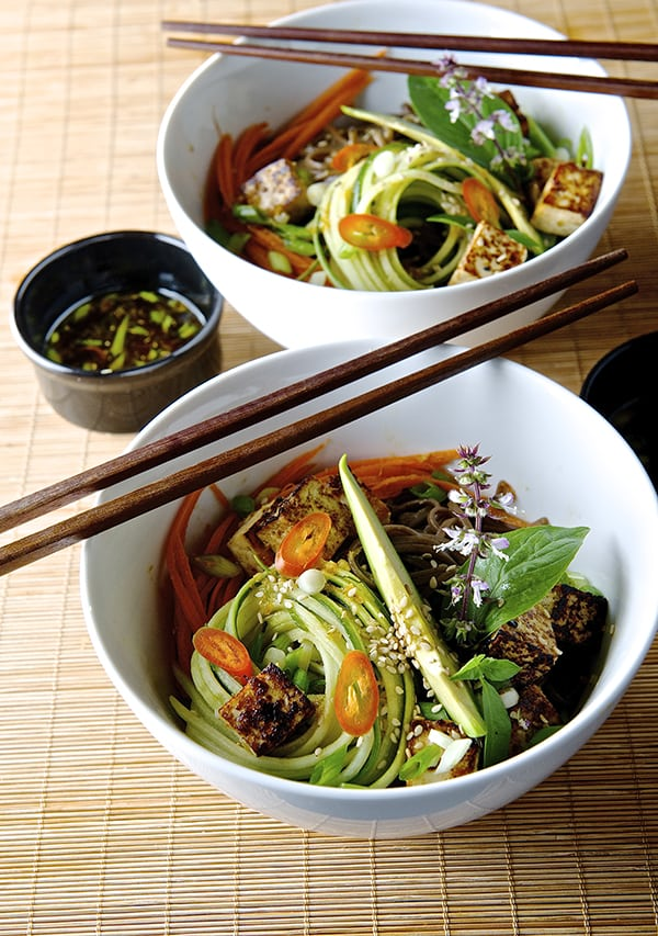 Summer Soba Noodles_for two