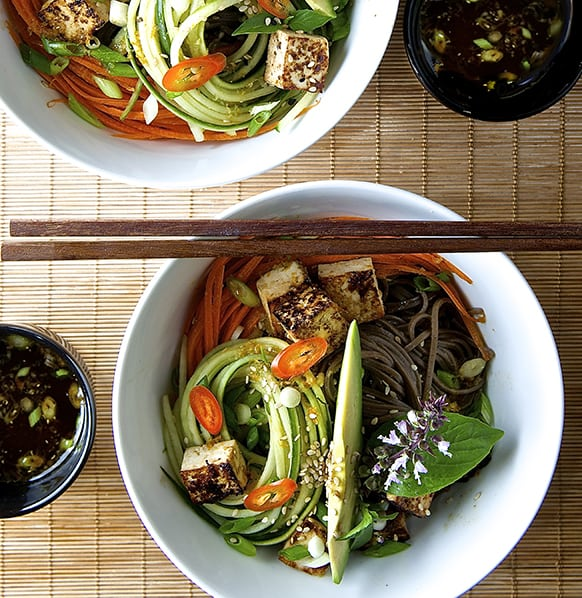 Summer Soba Noodles_healthy and delicious