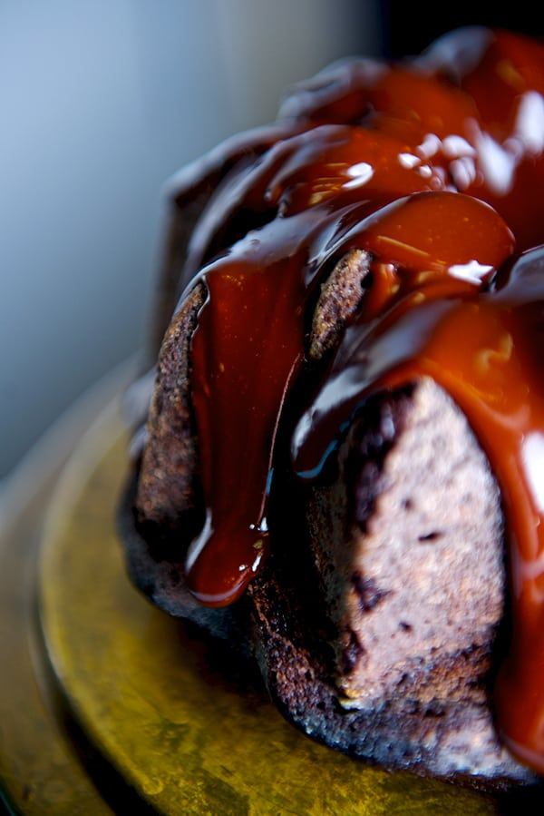 Devil's Chocolate and Ganache Cake_close up delight