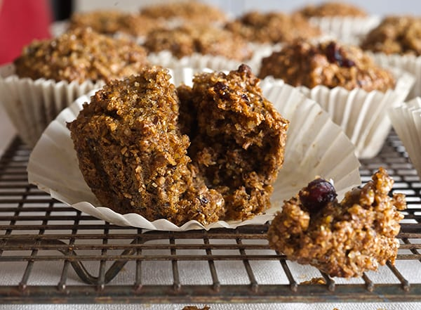 Cranberry Walnut Bran Muffins_so close you can smell it!