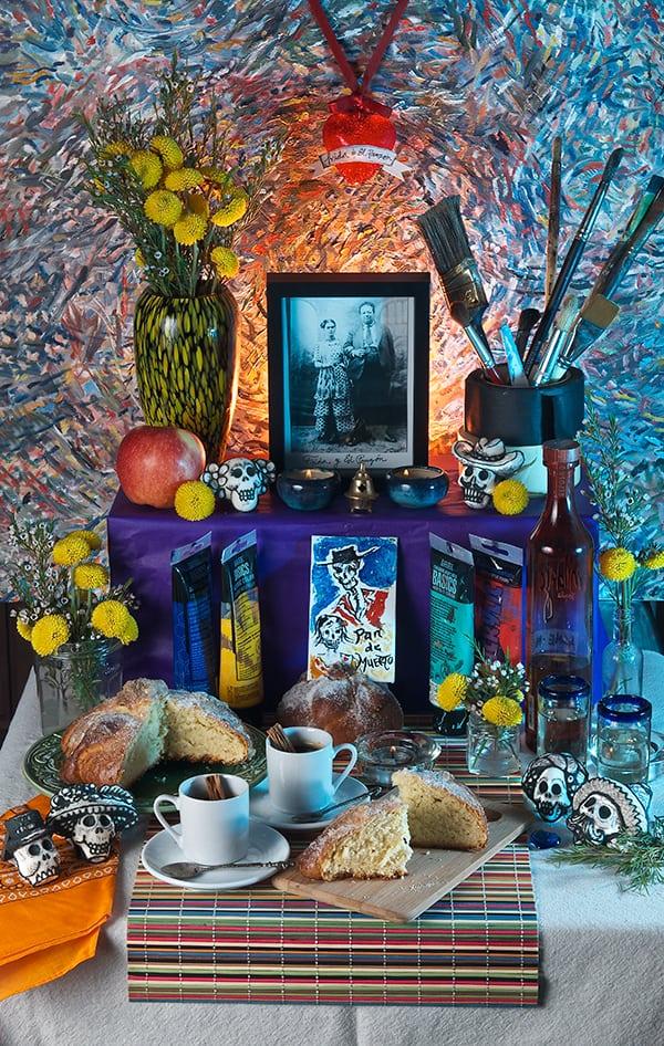 Dia-de-los-muertos_Altar_Frida_Khalo_Diego-Rivera_corazon-de-melon
