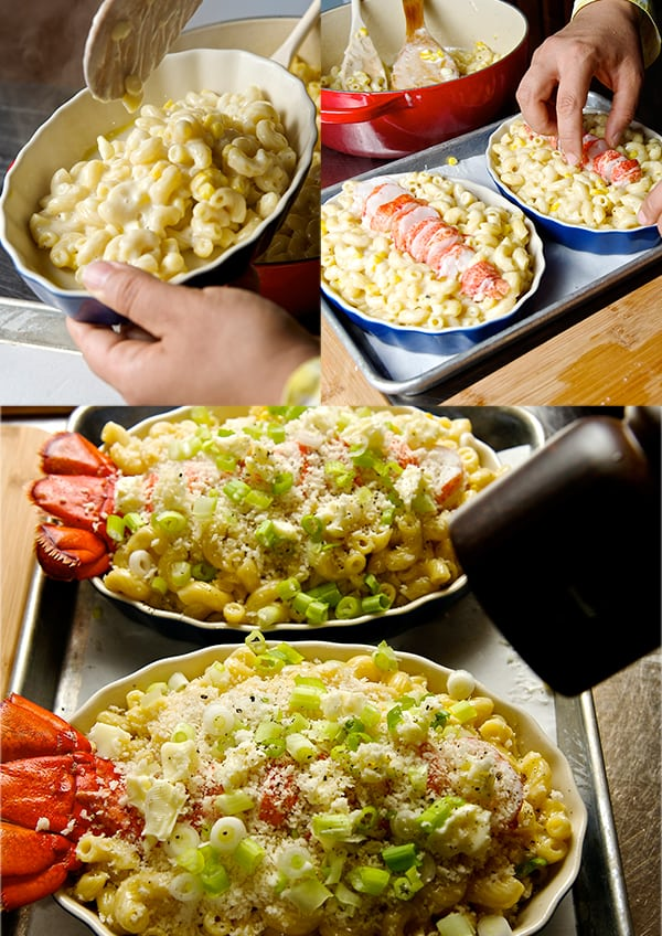 Lobster_Macaroni & Brie_assambling