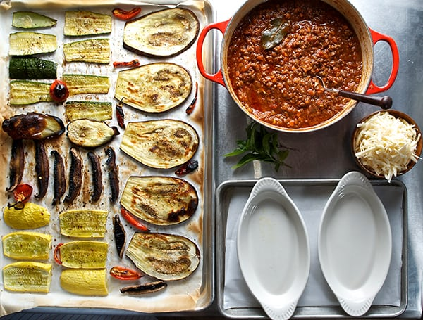 Roasted-Vegetable-&-Spicy-Bolognese-Napoleon_Mise-en-place
