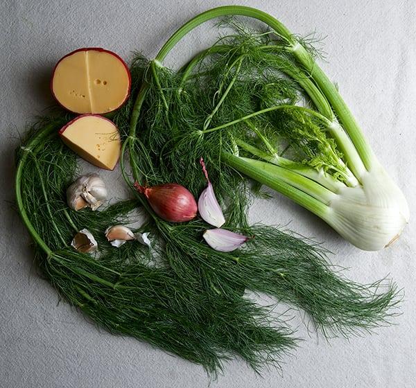 Fennel-Shallot-Bacon-&-Edam-Quiche_fresh-ingredients