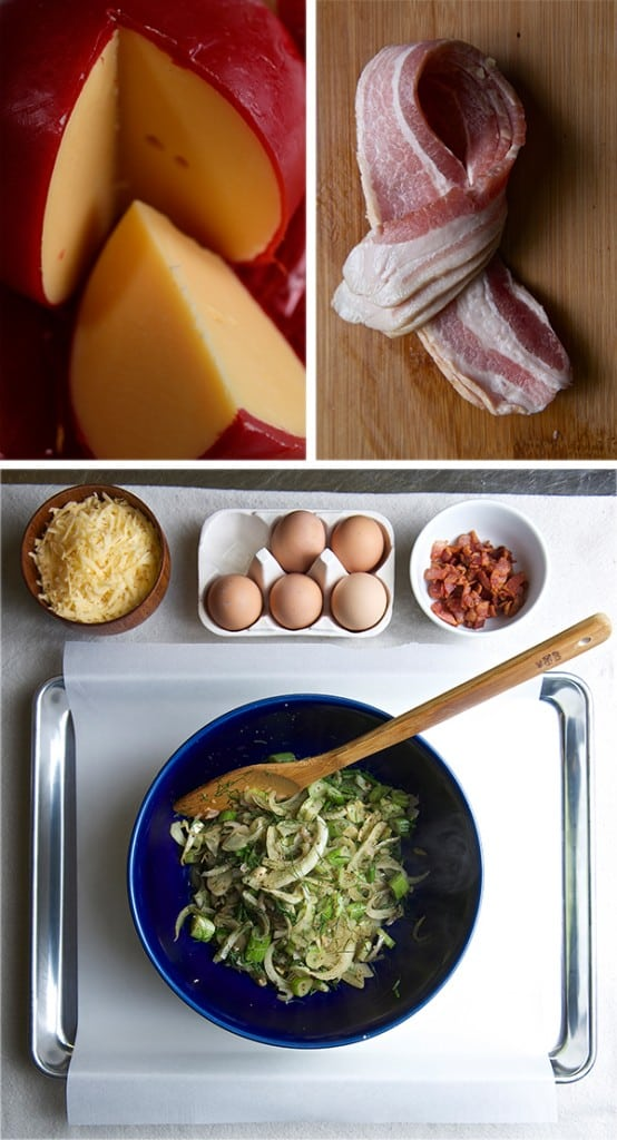 Fennel-Shallot-Bacon-&-Edam-Quiche_mise-en-place