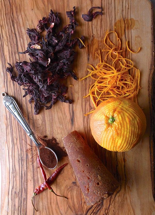 Hibiscus-Orange-Glazed-Cornish-Hens_aromatics-for-the-recipe_01