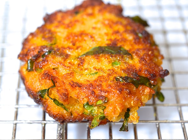 Kale-Sweet potatoe-and-Quinoa-Fritters-delicious!