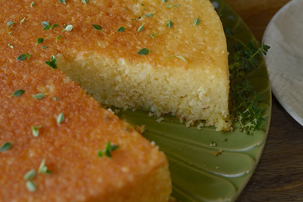 Ricotta-Cake-with-honey-lemon-thyme-glaze~Yes more please!
