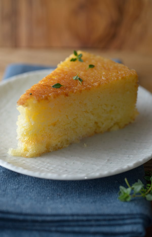 Ricotta-Cake-with-honey-lemon-thyme-glaze_slice