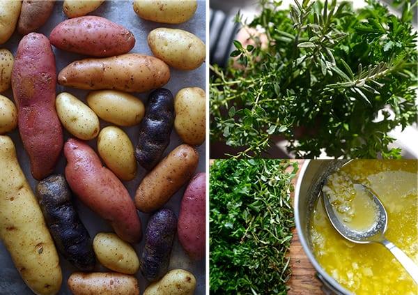 Roasted-fingerlings-potatoes-with-garlic-herbs-&almonds_ingredients