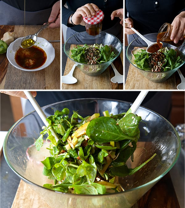 Acorn-squash-warm-salad_making-the-dressing