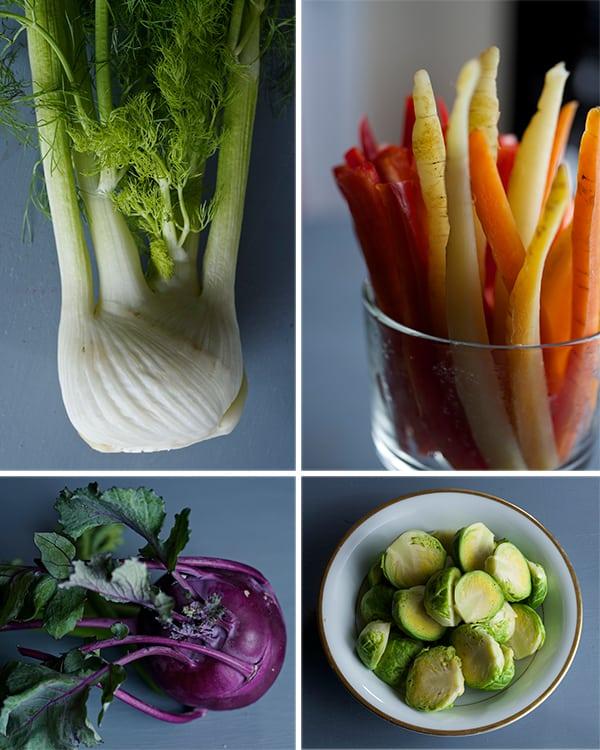Bagna-Cauda_seasonal-Vegetables-fennel,-carrots,-kohlrabi,-brusssels-sprouts~-yes,-more-please!