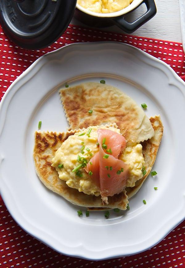 Betsy's_Scottish-Potatoe-Scones_withIan's-Creamy-eggs-~Yes,-more-please!