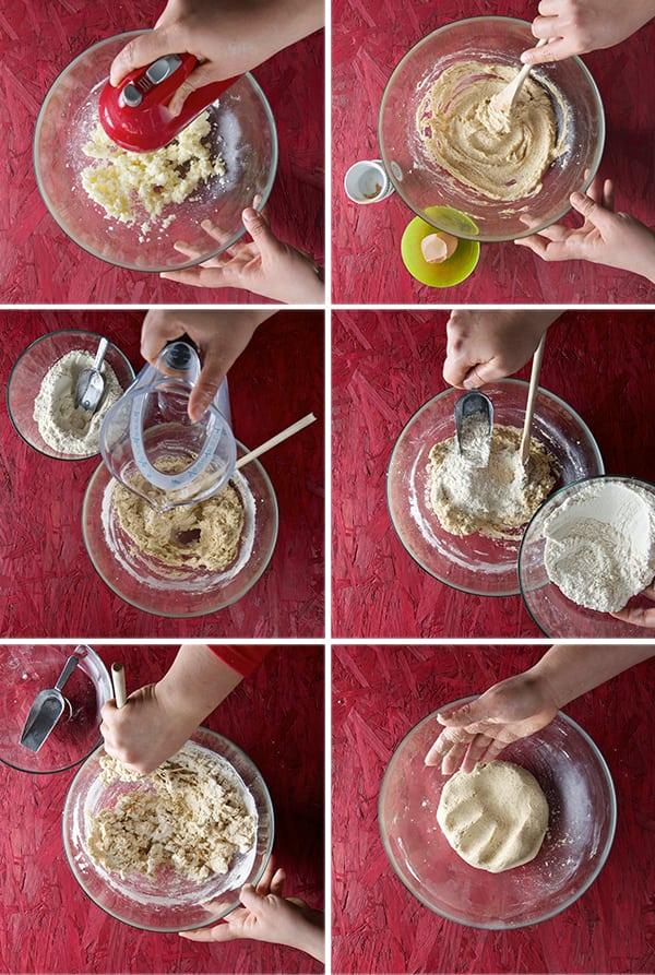 Corn-Flour-Cookies_mixing-the-dough