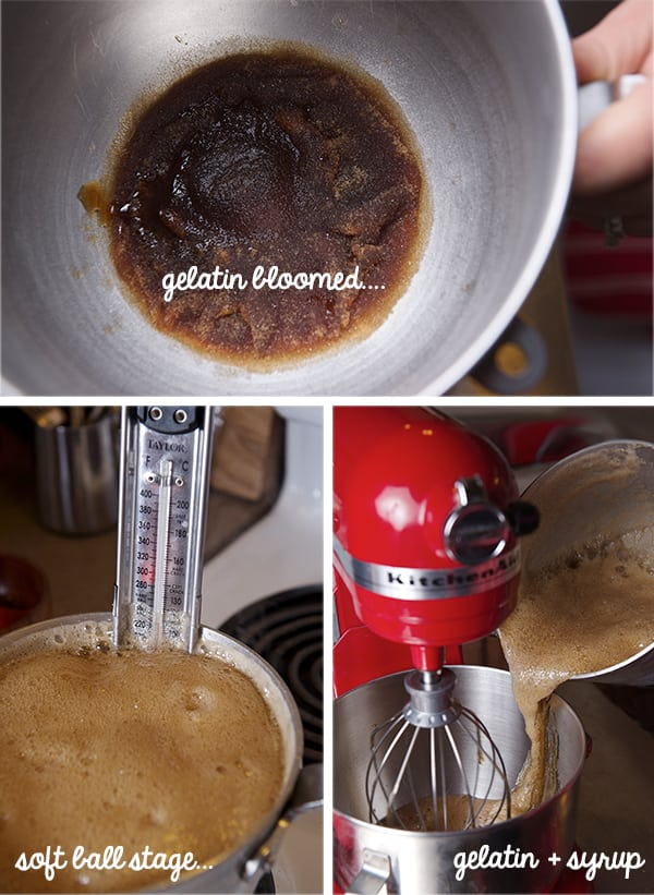 Stout-Marshmallows_Blooming-gelatin,-soft-ball-syrup,-whisking