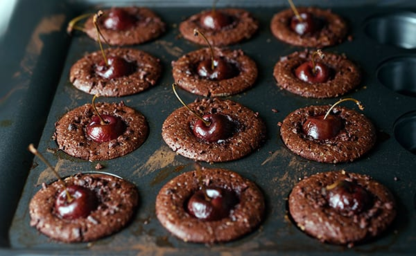 Cacao-Nibs-and-Cherry-Brownies-out-of-the-oven~YES,-MORE-PLEASE!