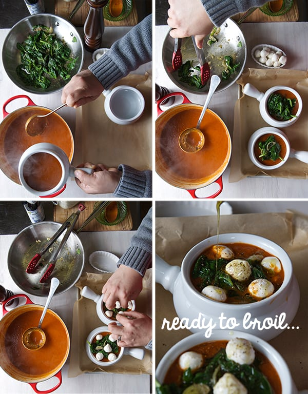 Tomato-Spinach-Soup-Caprese-style-assambling-the-soup-