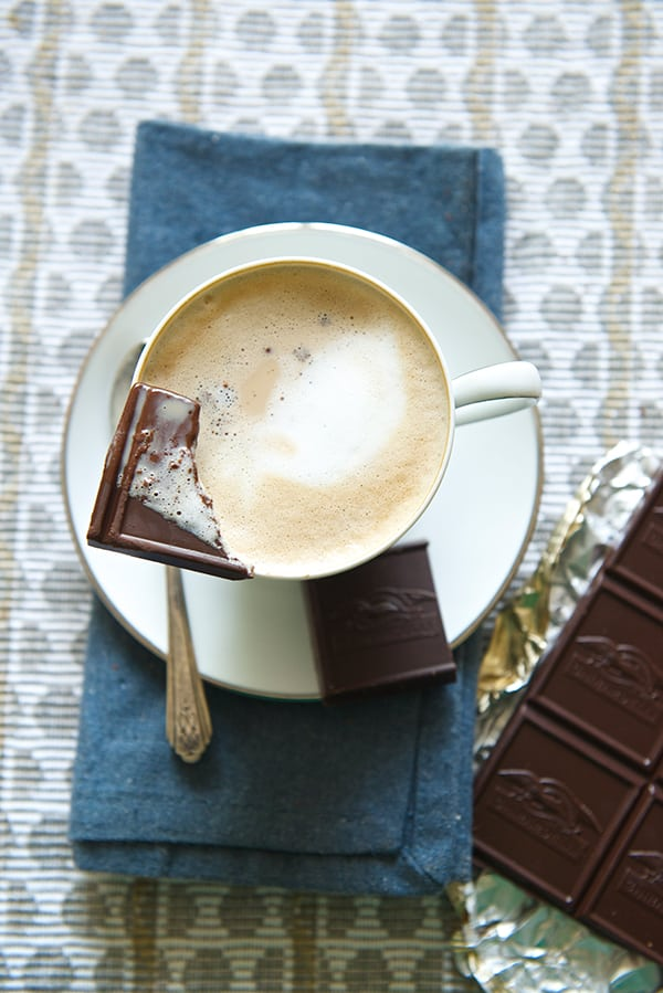 My perfect Ghirardelli Intense Dark Chocolate~Yes,-more-please!